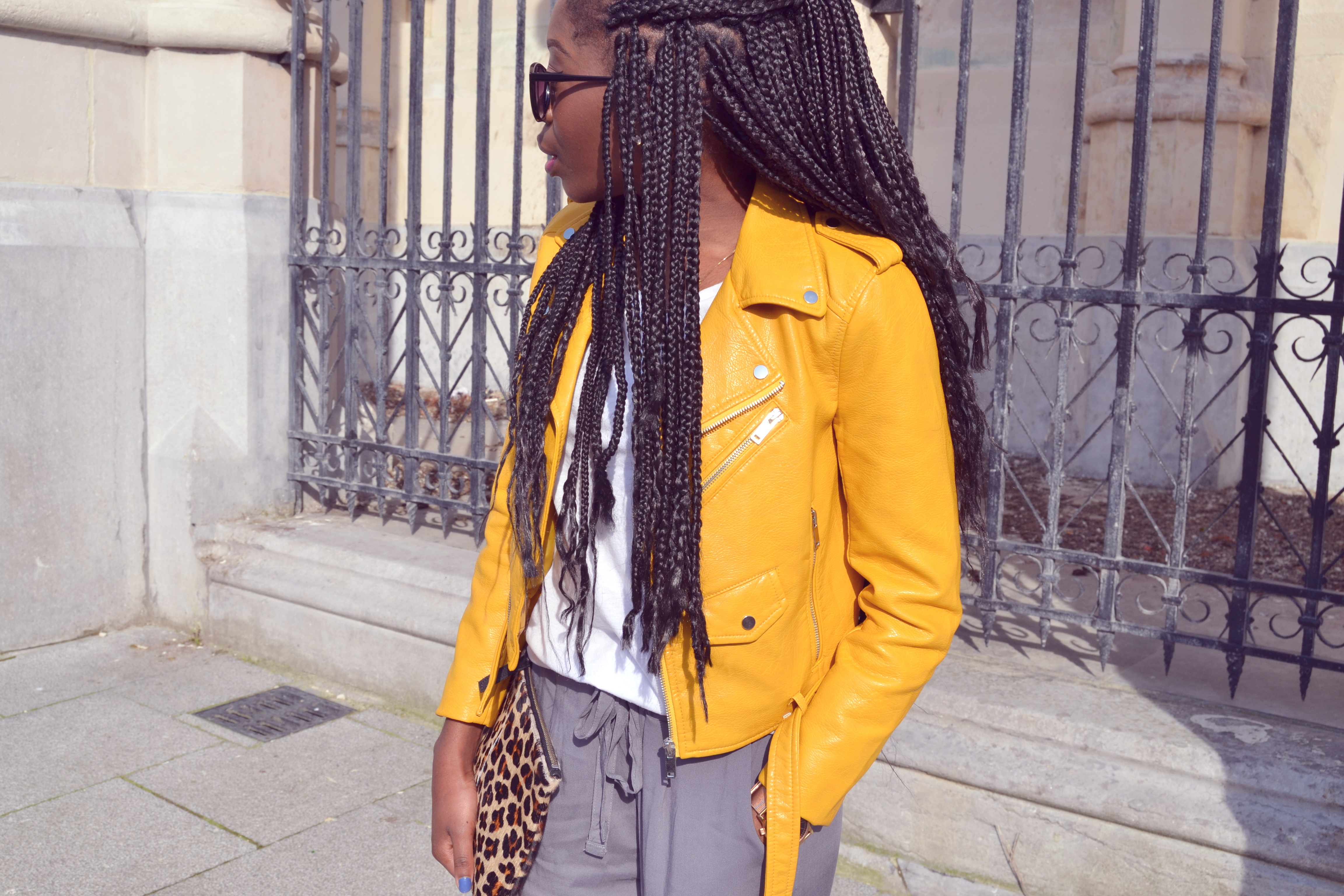 ESTHER KANTU [Yellow perfecto] N°3 Perfecto - Zara belgian fashion blogger